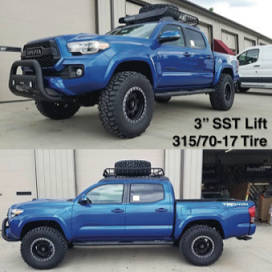 Tacoma SST Lift Kit